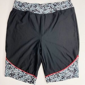 Swimsuits For All Modest Swim Shorts Size 14 Black